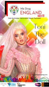 Mx Drag England Finalist Toni The Doll