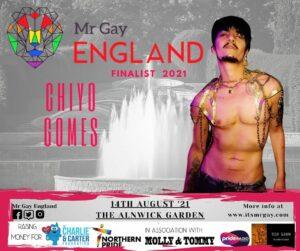 Mr Gay England Finalist, Chiyo