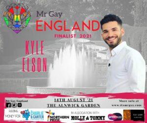 Mr Gay England Finalist, Kyle