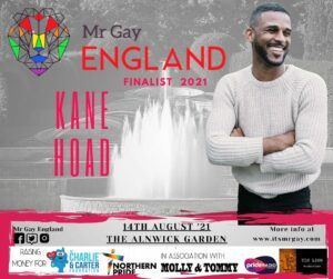Mr Gay England Finalist, Kane