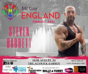 Mr Gay England Finalist, Steve