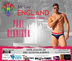 Mr Gay England Finalist, Paul