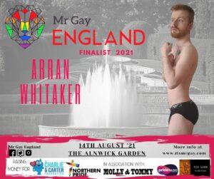 Mr Gay England Finalist, Arran