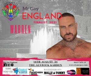 Mr Gay England Finalist, Warren