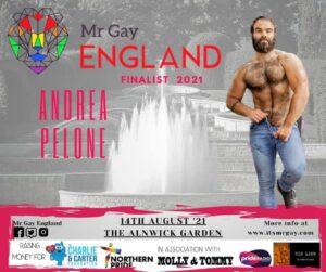 Mr Gay England Finalist, Andrea